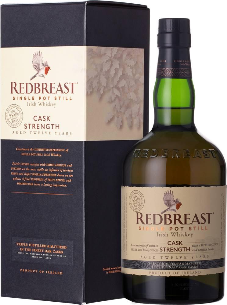 Redbreast Redbreast 12 ročná Cask Strength 55,8% 0,7l