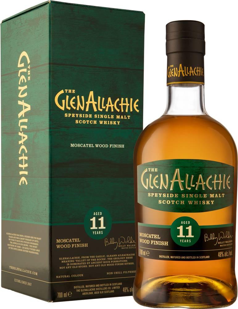The GlenAllachie The GlenAllachie 11 ročná Moscatel Wood Finish 48% 0,7l