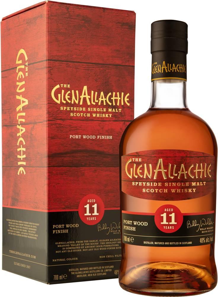 The GlenAllachie The GlenAllachie 11 ročná Port Wood Finish 48% 0,7l