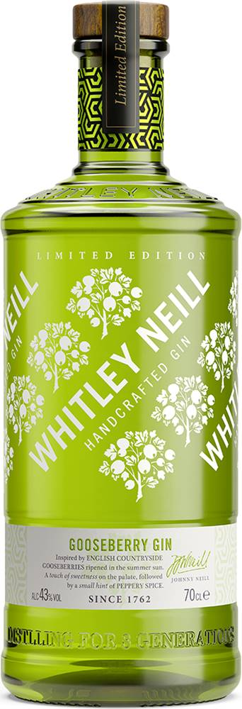 Whitley Neill Whitley Neill Gooseberry Gin 43% 0,7l
