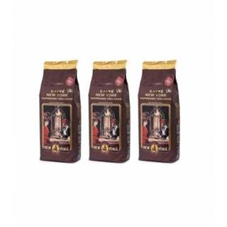 New York Caffé Extra 100% Arabica zrnková káva 3 x 1 kg