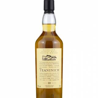 Teaninich 10YO Flora and Fauna collection 0,7L (43%)