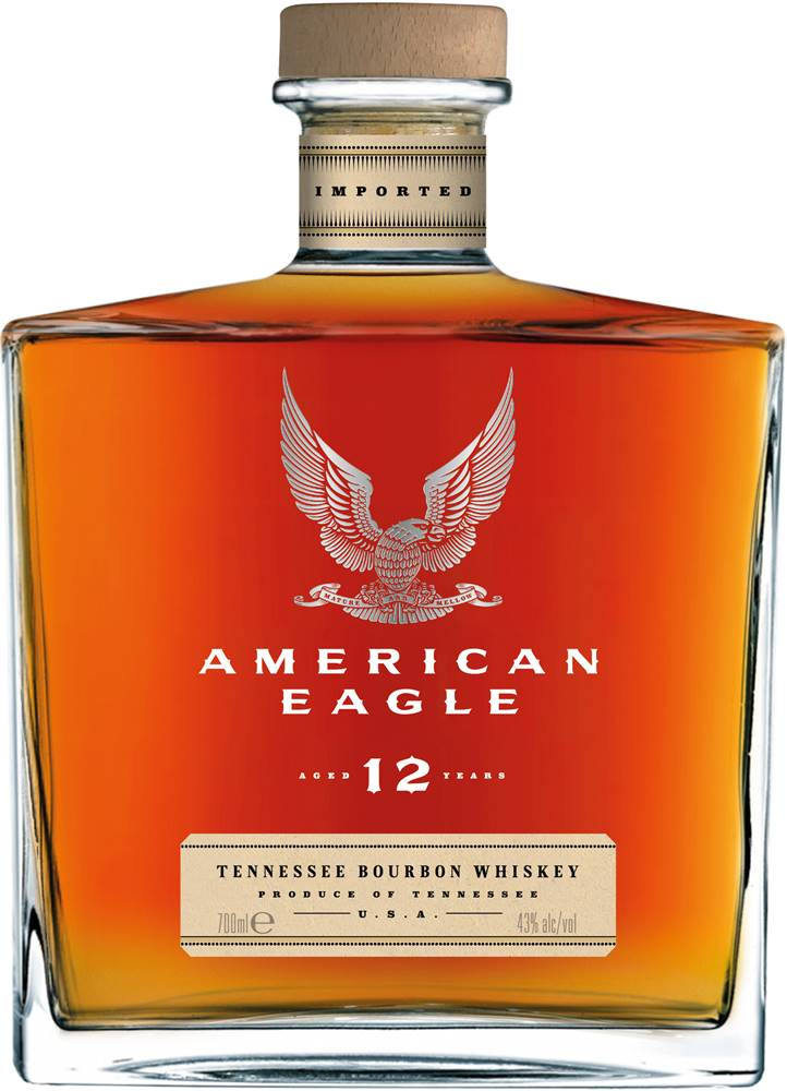 American Eagle American Eagle 12 ročná 43% 0,7l