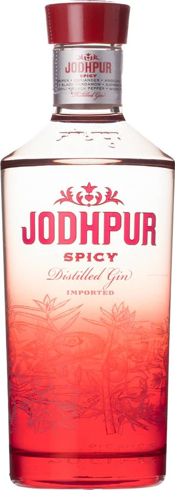 Jodhpur Jodhpur Spicy Gin 43% 0,7l