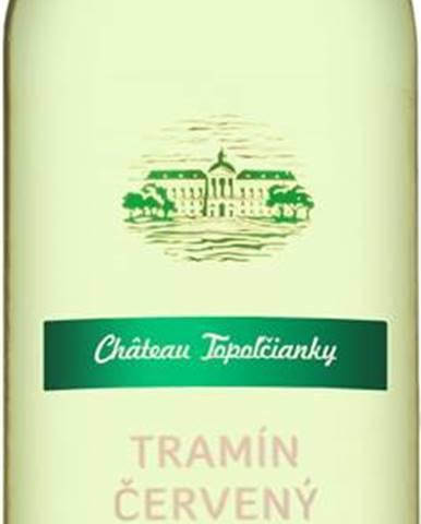 Chateau Topoľčianky T-Tramín červený 13,5% 0,75l