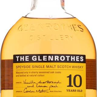 Glenrothes 10 ročná 40% 0,7l
