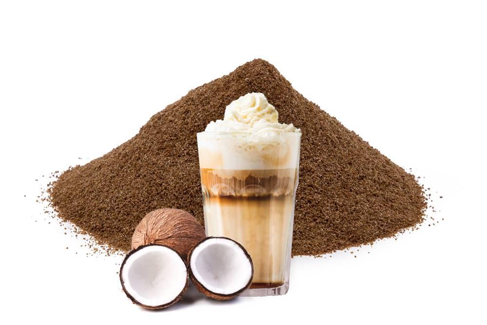Manu cafe FRAPPÉ KOKOS - rozpustná káva, 50g