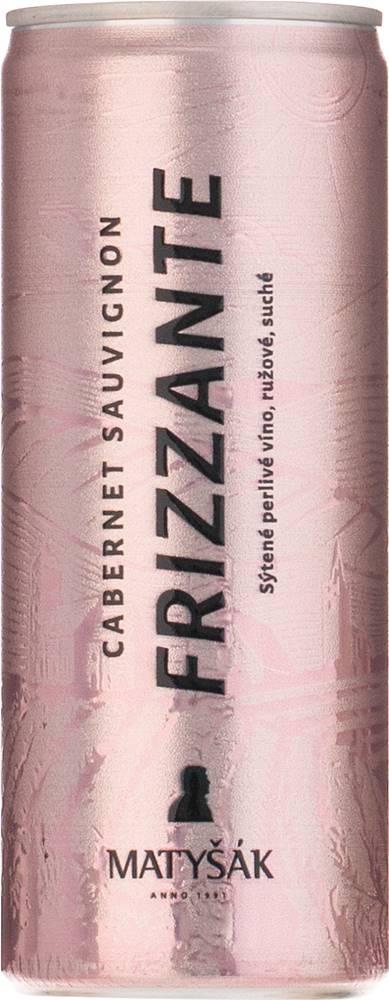 Matyšák Matyšák Frizzante ružové 12,5% 0,2l