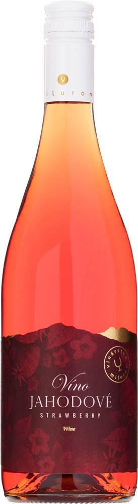 Miluron Miluron Jahodové víno 11,5% 0,75l