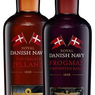 Set A.H. Riise Royal Danish Navy Fregatten Jylland + Frogman Conventus Ranae