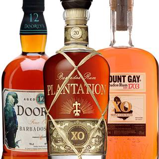 Set Plantation XO + Mount Gay XO + Doorly&