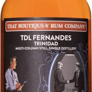 That Boutique-y Rum Company TDL Fernandes Trinidad 19 ročný Multi - Batch 1 57,4% 0,5l