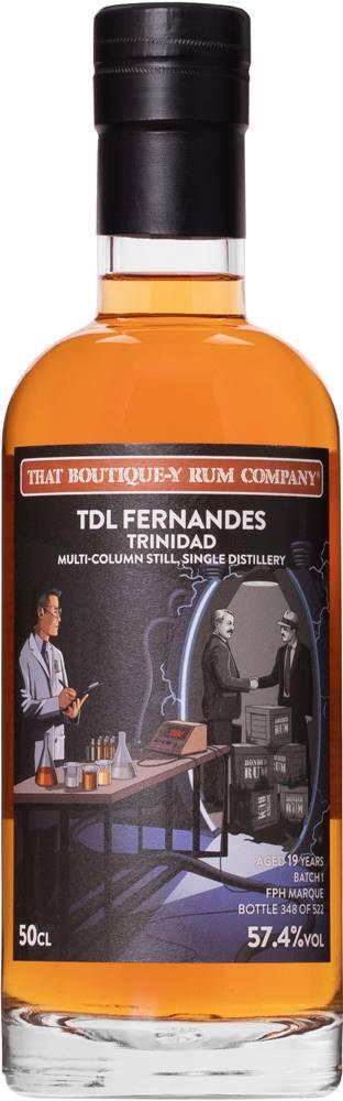 That Boutique-y Rum Company That Boutique-y Rum Company TDL Fernandes Trinidad 19 ročný Multi - Batch 1 57,4% 0,5l
