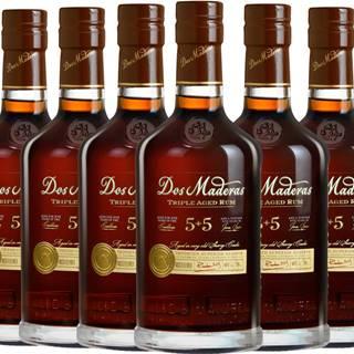 Set 6 x Dos Maderas PX (5+5) + poháre