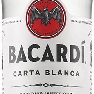 Bacardi Carta Blanca 37,5% 0,7l