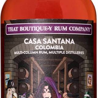That Boutique-y Rum Company Casa Santana 12 ročný 58,4% 0,5l