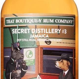 That Boutique-y Rum Company Secret Distillery 14 ročný 55,5% 0,5l