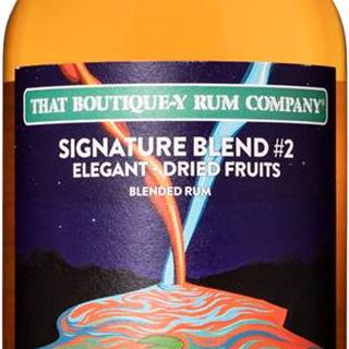 That Boutique-y Rum Company Signature Blend