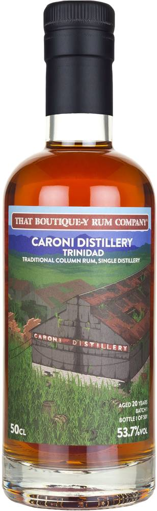 That Boutique-y Rum Company That Boutique-y Rum Company Caroni 20 ročný 54,7% 0,5l