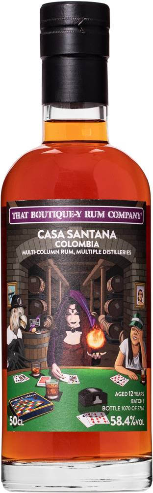 That Boutique-y Rum Company That Boutique-y Rum Company Casa Santana 12 ročný 58,4% 0,5l
