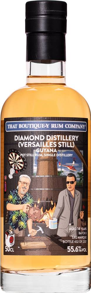 That Boutique-y Rum Company That Boutique-y Rum Company Guyana 14 ročný 55,6% 0,5l