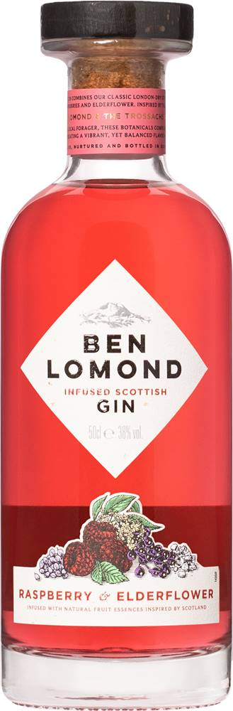 Ben Lomond Ben Lomond Raspberry & Elderflower Gin 38% 0,5l