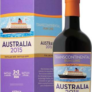 Transcontinental Rum Line Australia 2015 48% 0,7l