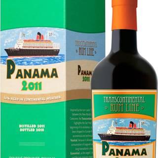 Transcontinental Rum Line Panama 2011 43% 0,7l