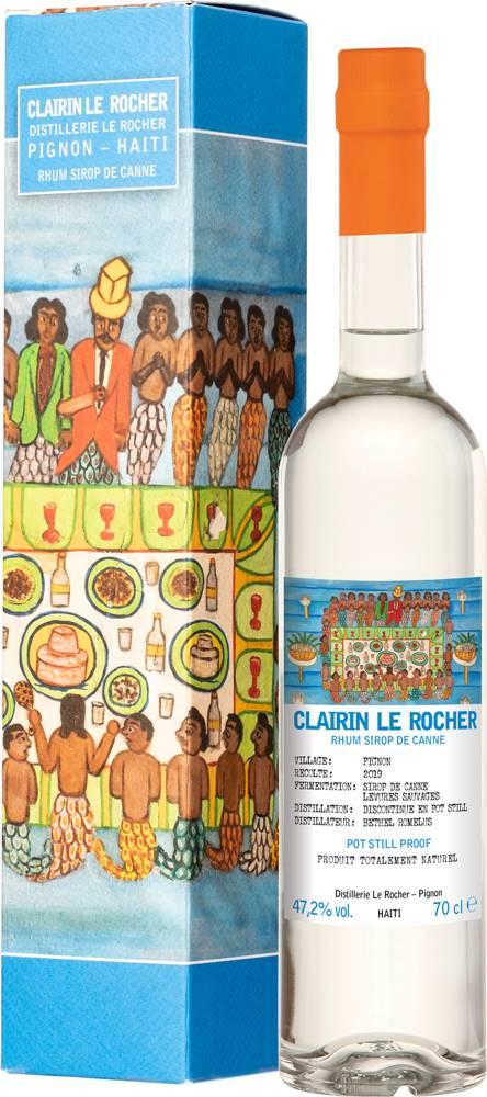 Clairin Clairin Le Rocher Rum 2019 47,2% 0,7l