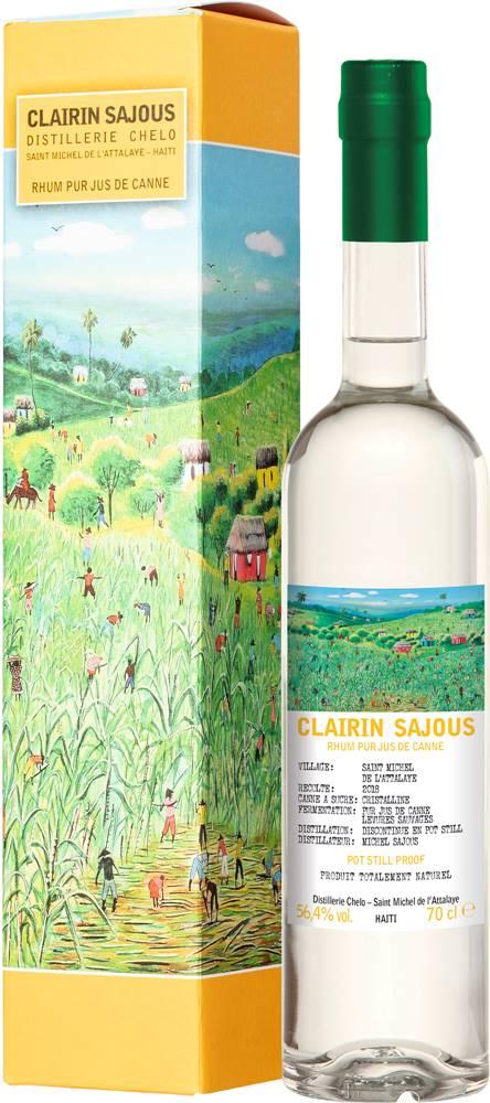 Clairin Clairin Sajous Rum 2018 56,4% 0,7l