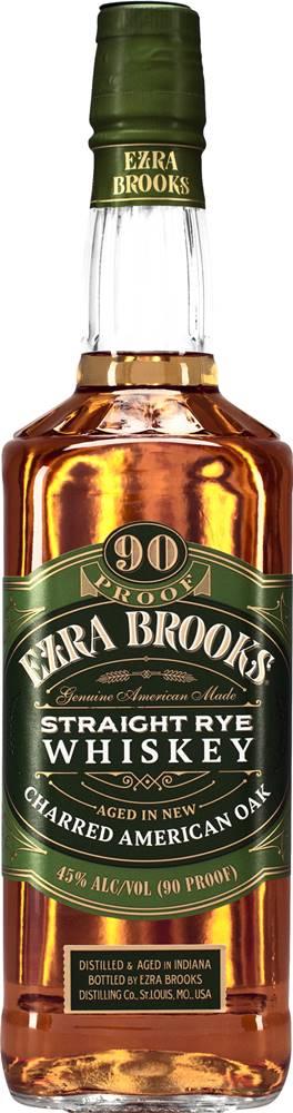 Ezra Brooks Ezra Brooks Straight Rye 45% 0,7l