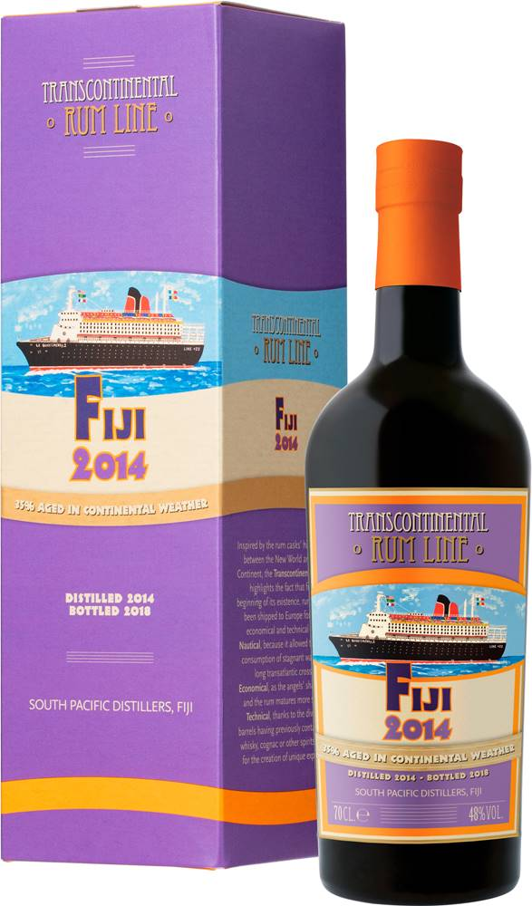 Transcontinental Rum Line Transcontinental Rum Line Fiji 2014 48% 0,7l