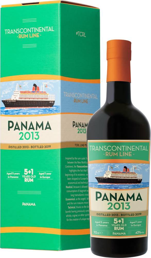 Transcontinental Rum Line Transcontinental Rum Line Panama 2013 43% 0,7l