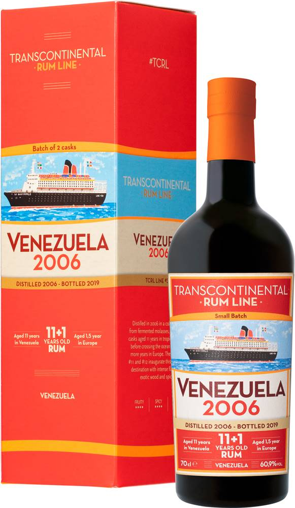 Transcontinental Rum Line Transcontinental Rum Line Venezuela 2006 60,9% 0,7l